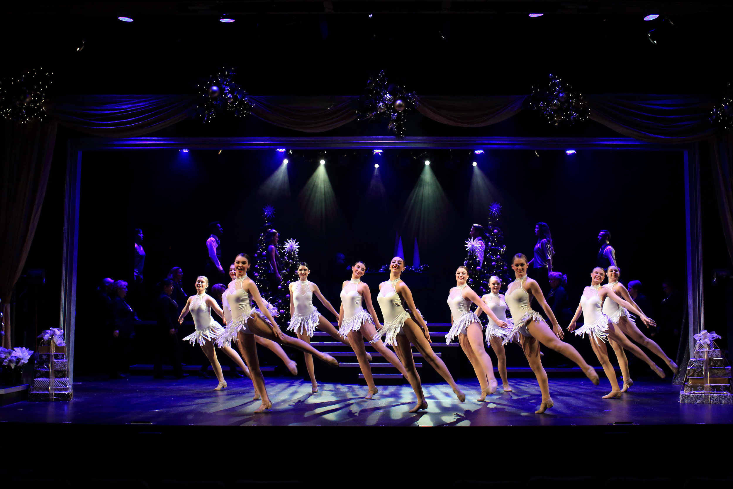 As they were last year, the young women of Pat's School of Dance, in Hendersonville, are a joyous highlight of the show.