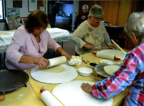 Lefse Making at Bethlehem Lutheran
