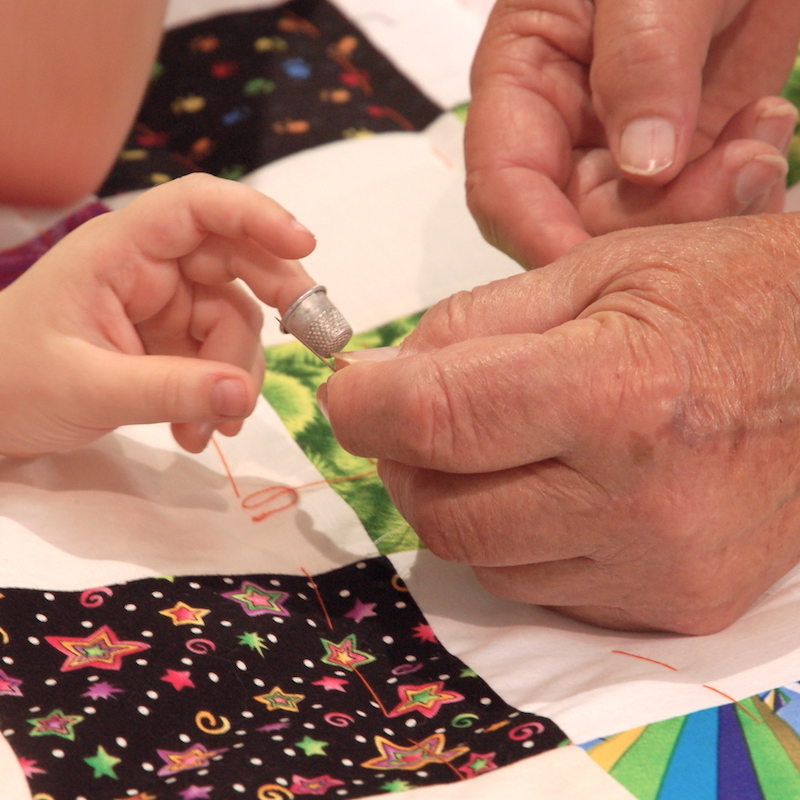 Quilters' Hands