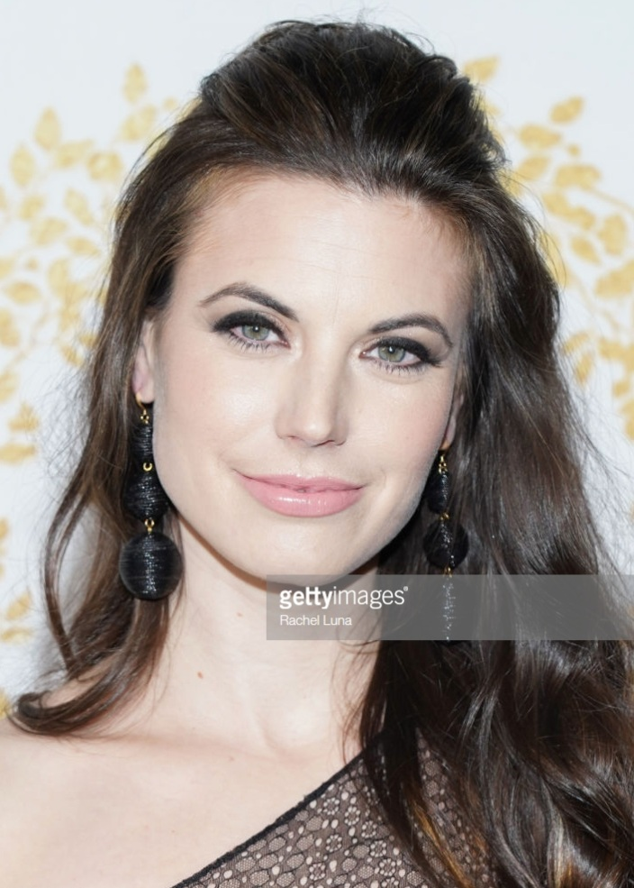 meghan ory  FOR  hallmark tca's  RED CARPET - HAIR BY EMILY WRIGHT