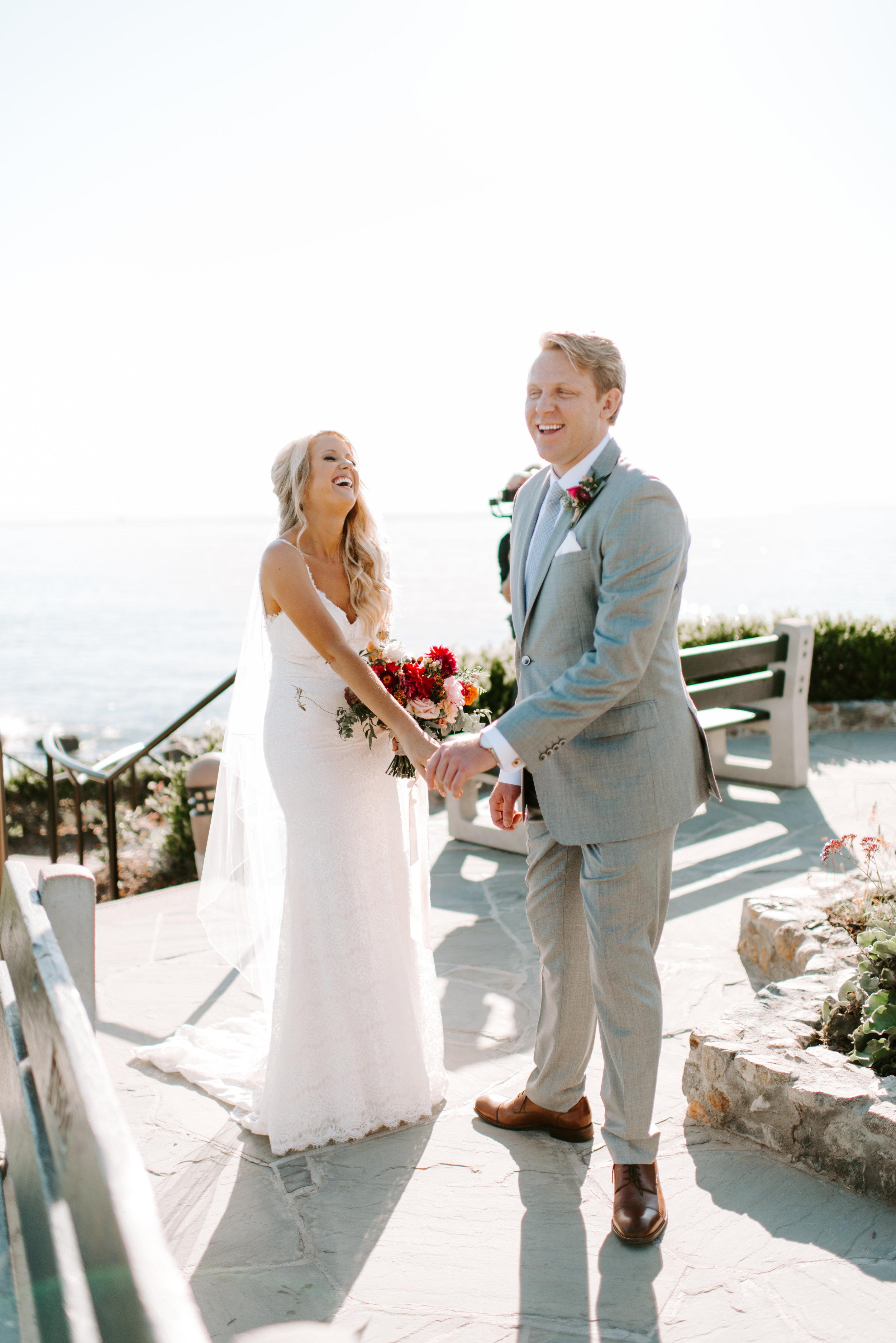 Wife surprises husband on wedding day