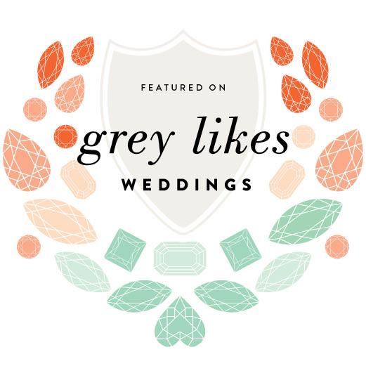 Wedding hair and makeup published on grey likes weddings blog