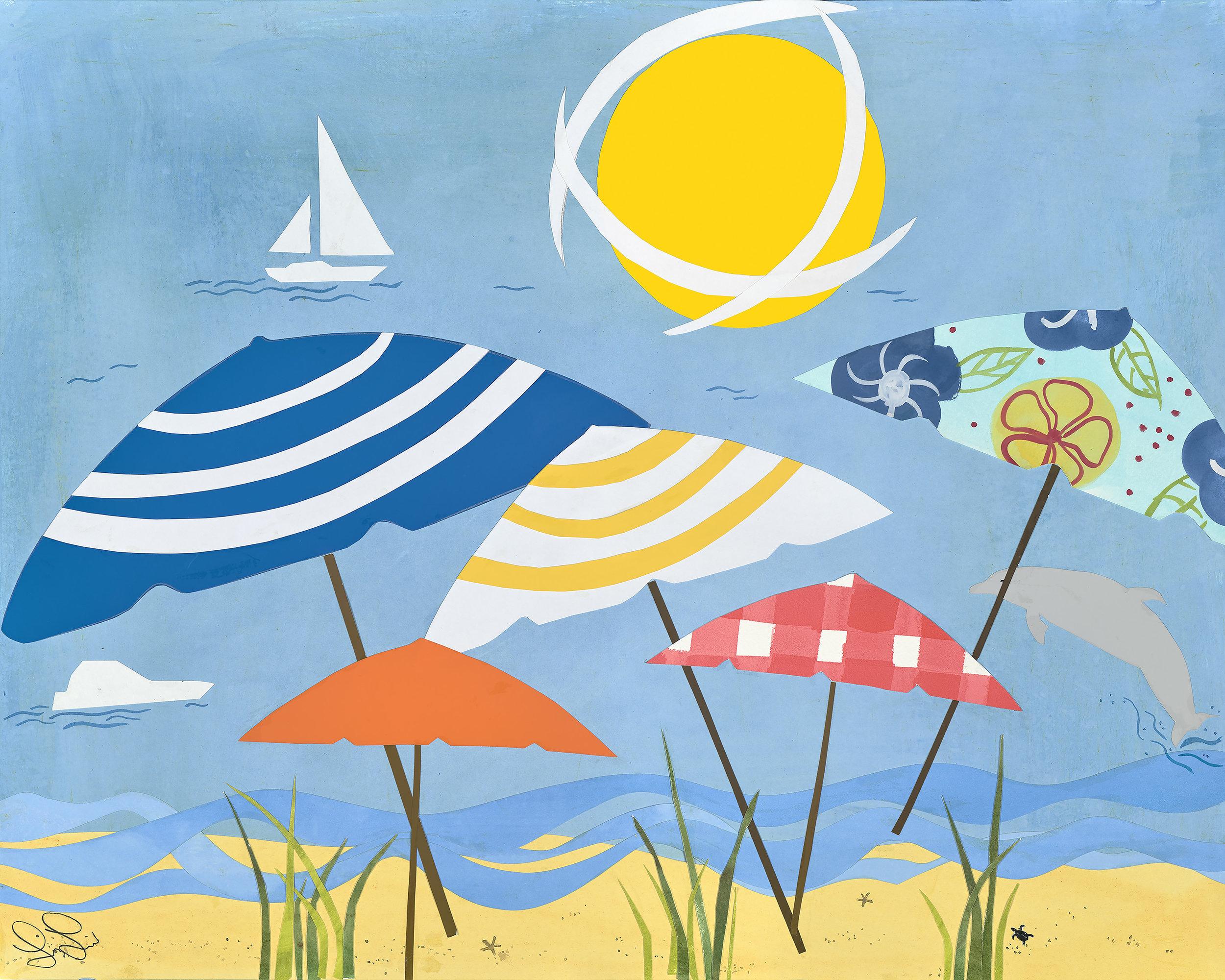 Sunny Beach Umbrellas - Buy This