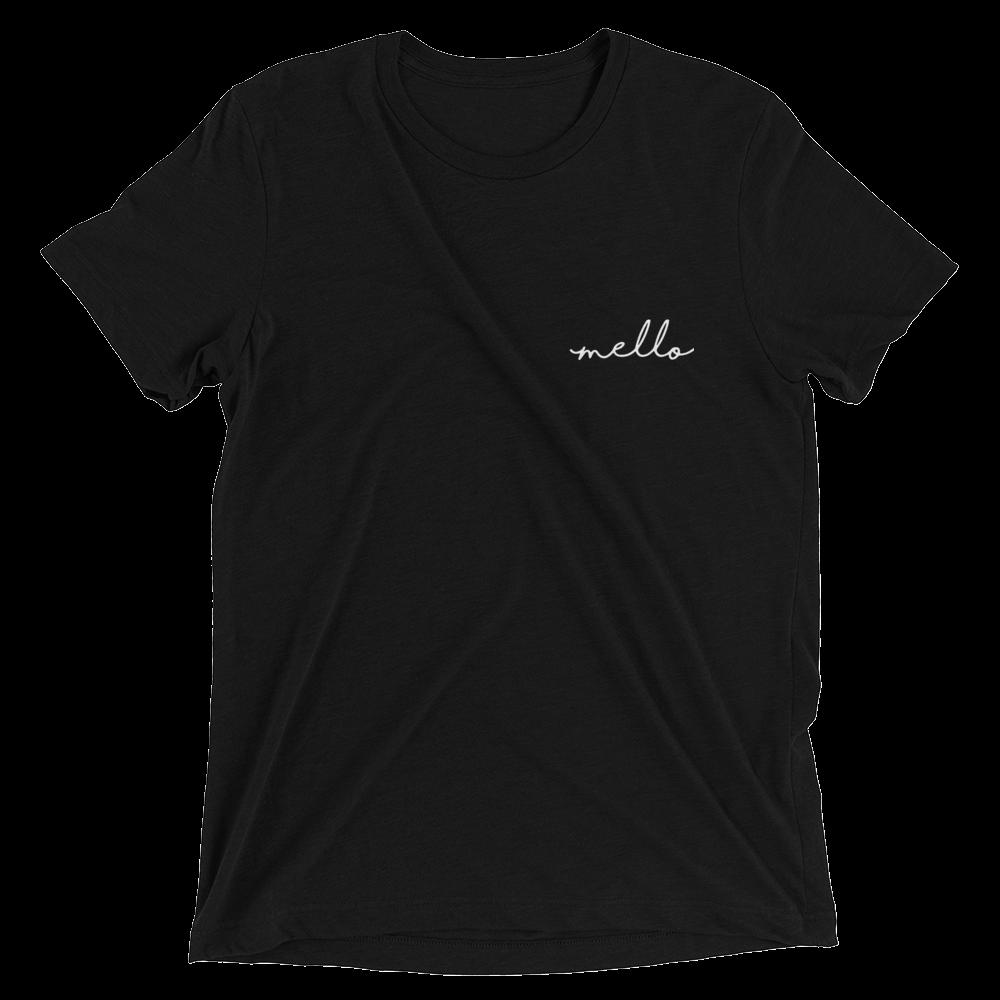 mello-logo-white_mockup_Front_Flat_Solid-Black-Triblend.png