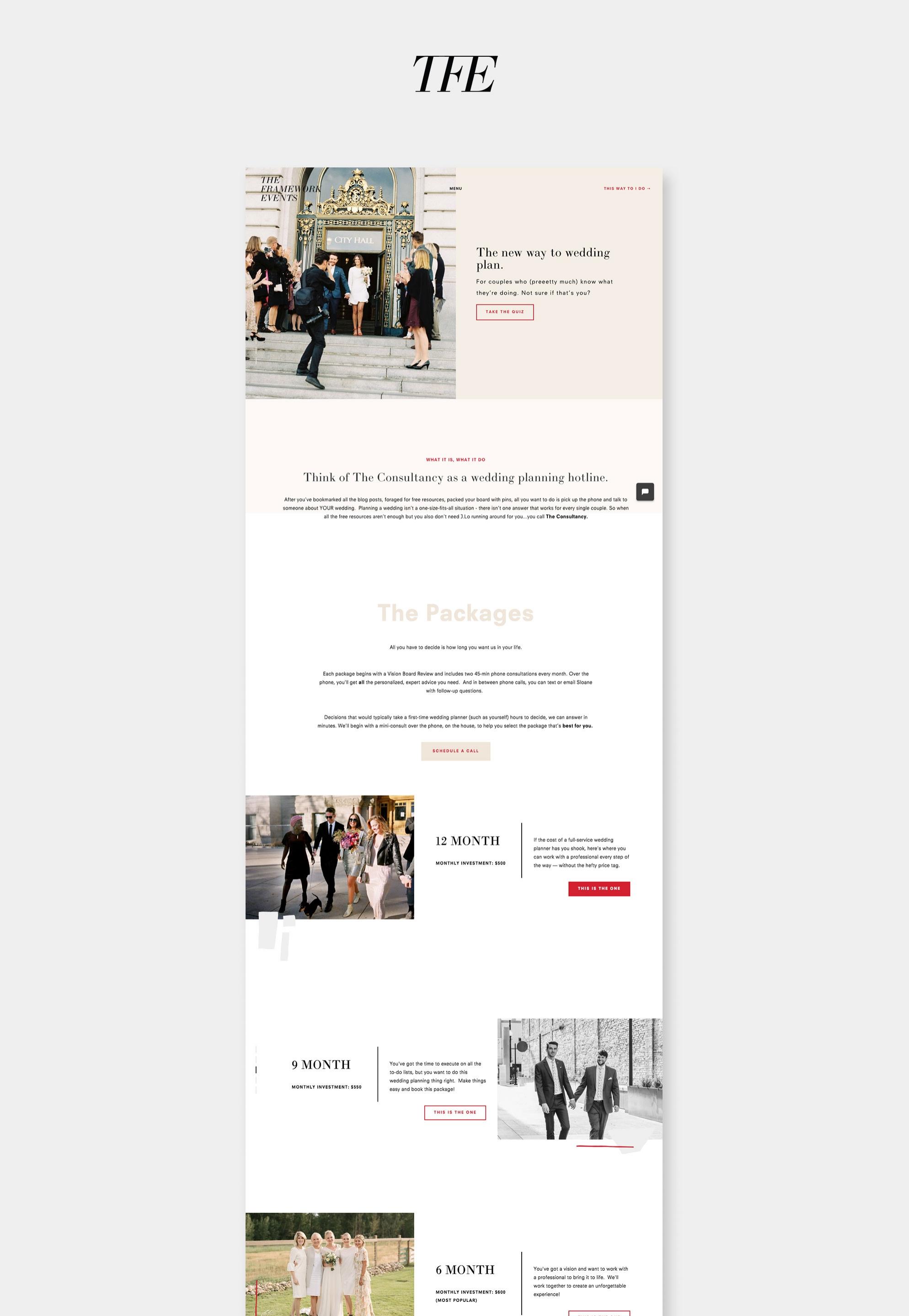 Site-Showcase-TheFrameworkEvents - SH Digital