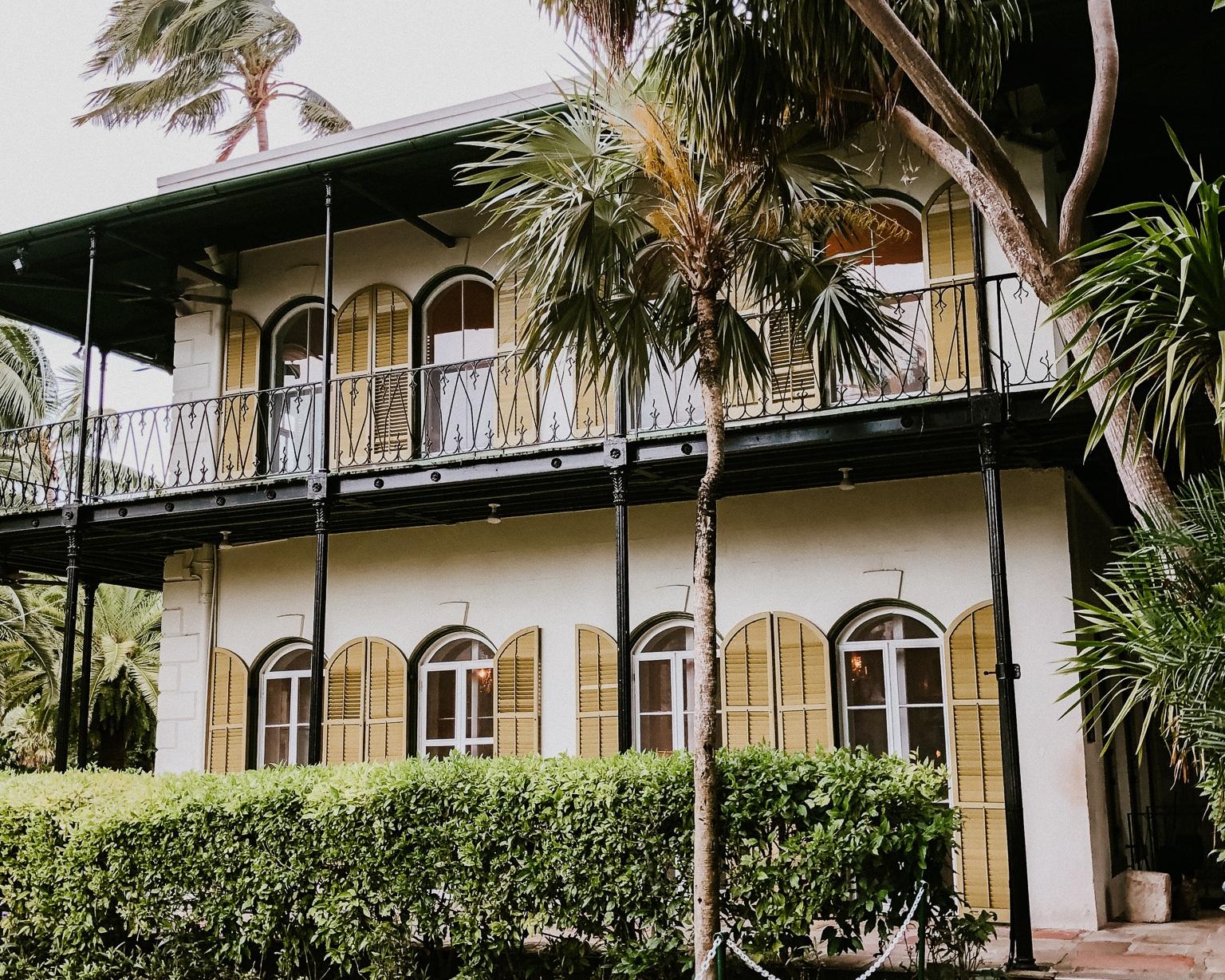 Key West Honeymoon - Hemingway House