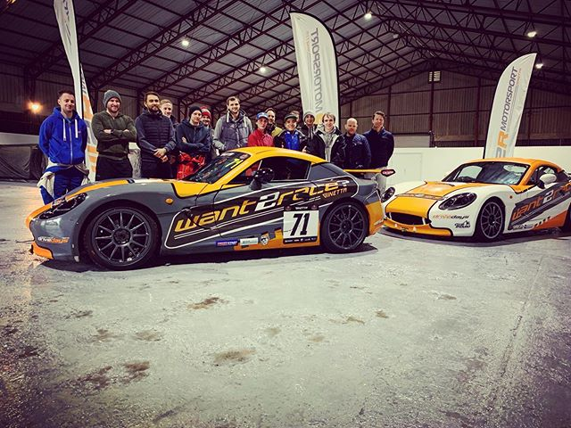 Today we welcome the first contenders of the 2019 @want2race1 Scholarship. Good luck everyone #blytonpark #want2race #ginettacars