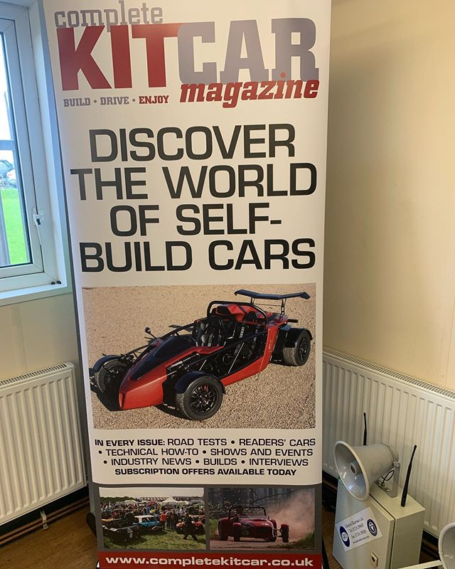 Today we welcome Complete Kit Car Magazine for a track day where we will see lots of unique and interesting machines. #blytonpark #trackday #completekitcarmagazine  #kitcar