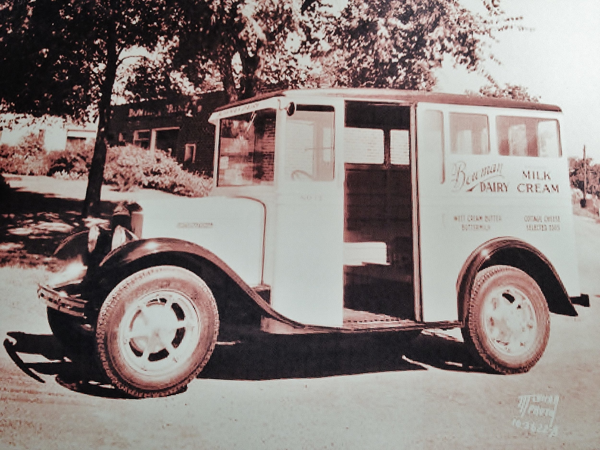 Bowman Dairy Delivery Truck