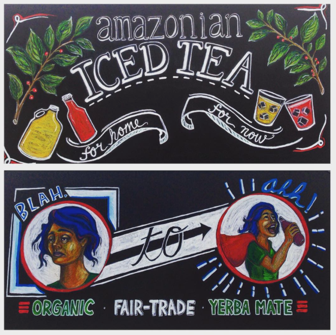 Farmer's Market Chalk Illustrations
