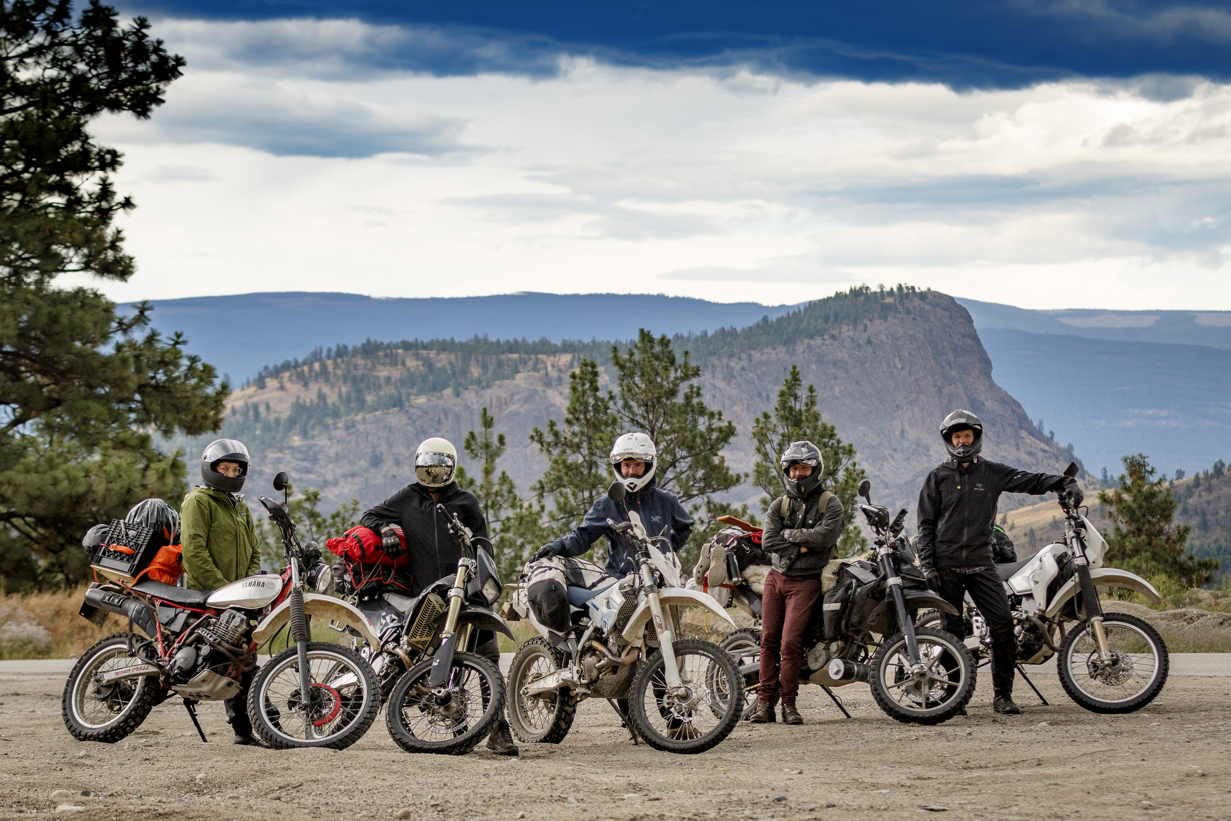 The Giants Head Freeride organizing team.