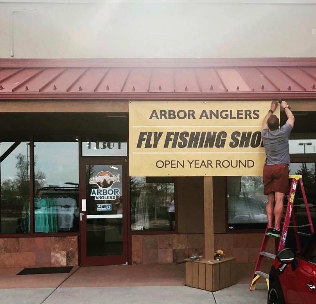 Arbor Anglers #2 - Lafayette, Colorado - Arbor Anglers second location is the premier new fly shop in the Lafayette/Louisville area. Open year round and now fully stocked with a wide array of Fly Cvltvre products.Location: 489 U.S. N HWY 287, Suite 130, Lafayette, CO 80026Phone: 720-512-1416