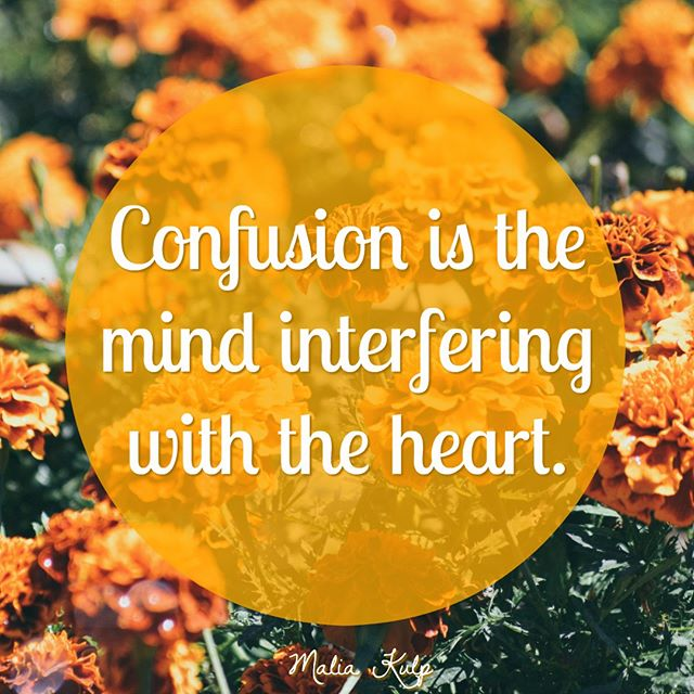 "When we're experiencing confusion, it's the patterning of the mind that's come into the equation. Our hearts and bodies know the answer.  It's the practice of listening internally that starts to awaken our sensitivity to that. Most of us are not sensitive to that, but the body innately has the answers and can give us clues.  That's okay if it takes a little while to unfold. It's about asking every day what a ""yes"" or a ""no"" feels like in our bodies and moving from that feeling.  Because we have our own answers.  When was the last time you listened to your heart? ⠀⠀⠀⠀⠀⠀⠀⠀⠀ ⠀⠀⠀⠀⠀⠀⠀⠀⠀ ⠀⠀⠀⠀⠀⠀⠀⠀⠀ ⠀⠀⠀⠀⠀⠀⠀⠀⠀ ⠀⠀⠀⠀⠀⠀⠀⠀⠀ #heartcentered #innerguidance #inspiredaction #soulpurpose #fridayfeeling #listentoyourheart #intuitivehealer #spiritualpractice #innerwisdom #innerknowing #spiritualdevelopment #spiritualcoach #trustyourself"