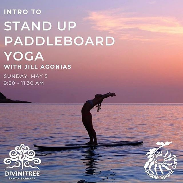 🧘🏼‍♂️🏄🏾‍♂️ #SUPYoga season is beginning this weekend. Please join us this Sunday at 9:30am with the very talented @jillananda and learn the basics of SUP Yoga. In partnership with @divinitree.santabarbara we will be hosting a monthly SUP Yoga 101 Intro class, and a SUP Yoga Fusion class every Saturday/Sunday at 9am. We are so excited!  #yoga . . . . . . . 🏄🏼‍♂️ Here are our tags, so people can find out what we are about: #paddlesports is #santabarbara premier #kayak | #standuppaddle #SUP | #Surf rental & tour center since 1993.  We are a for-benefit organization, whose mission is to save the #oceans and #naturalplaces . We are passionate about #paddling #kayaking #surfing #paddleboarding #paddlesurf #standuppaddleboarding #supsurf #travel #adventure #outdoors #seesb #sboceanlife #suplife