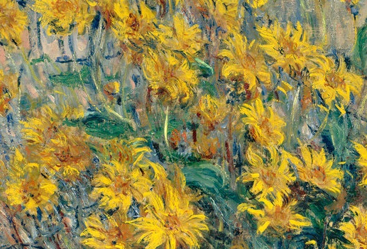 Claude Monet, 1840-1926, Jerusalem Artichoke Flowers, 1880, Oil on canvas, 99.6x73 cm, Edited.jpg