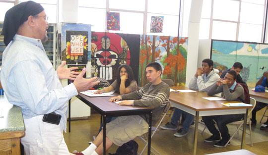Bernard Hoyes addresses IHS Students 3 in.jpg