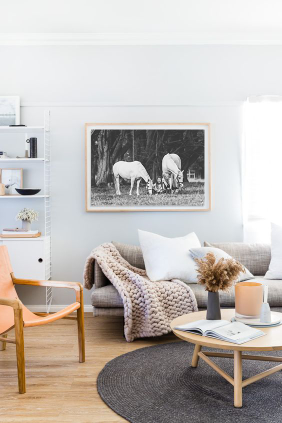 The Horse Photographer creates wall art for your home