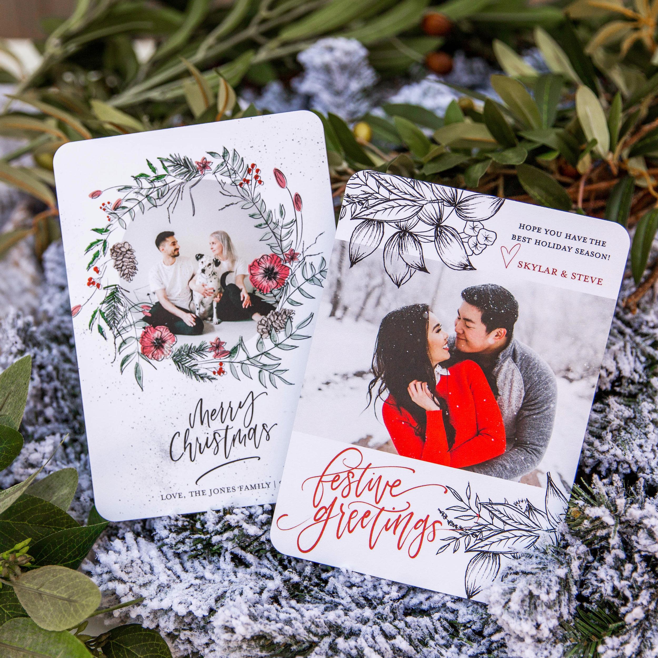 Couple Christmas Photo Card Ideas Mixbook Inspiration