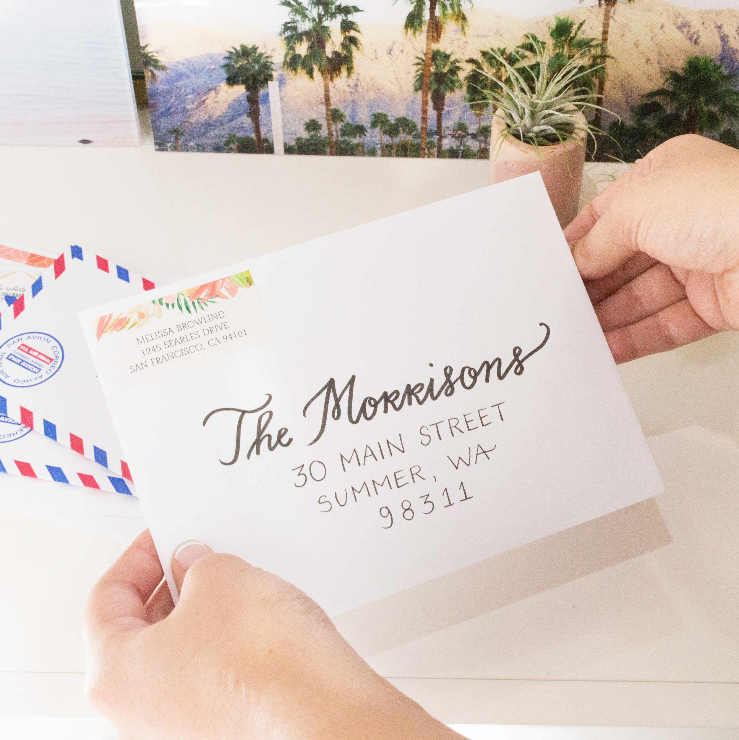 How To Address Save The Date Postcards