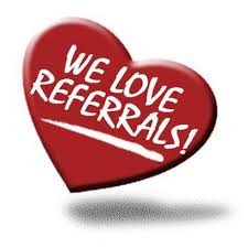 The Highest Compliment You Can Give to TCB e is the Referral of a Friend, Relative, Community Neighbor, and Co-Worker.  Earn $15 Off for every New Referral booked.