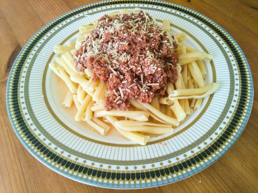 Beef mince Ragu made using Grace Springs Farm Grass Fed Beef. Photo credits Evan James.