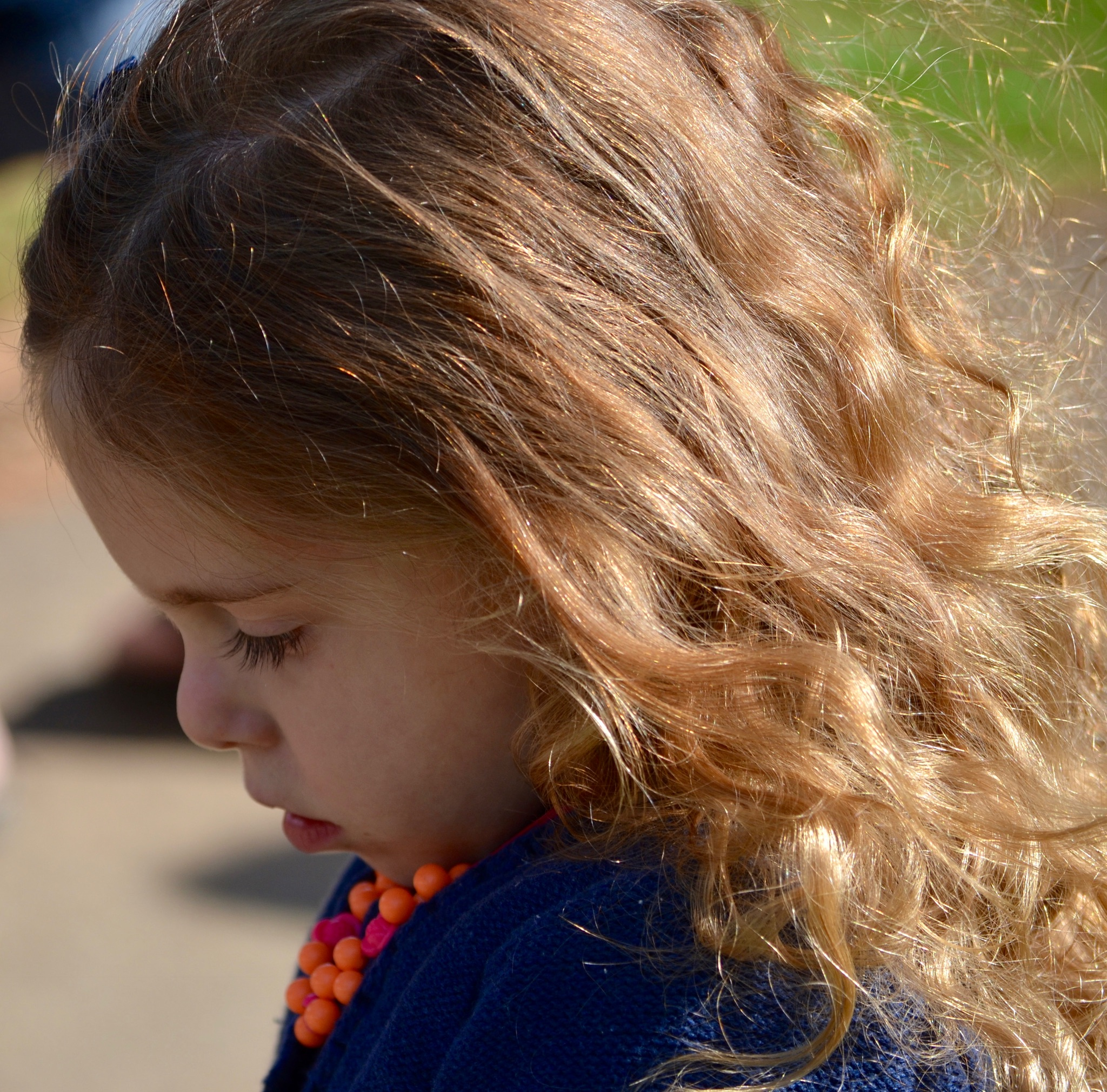 I always LOVED her eyelashes, they're so gorgeous! and her hair! that child had magnificent hair!