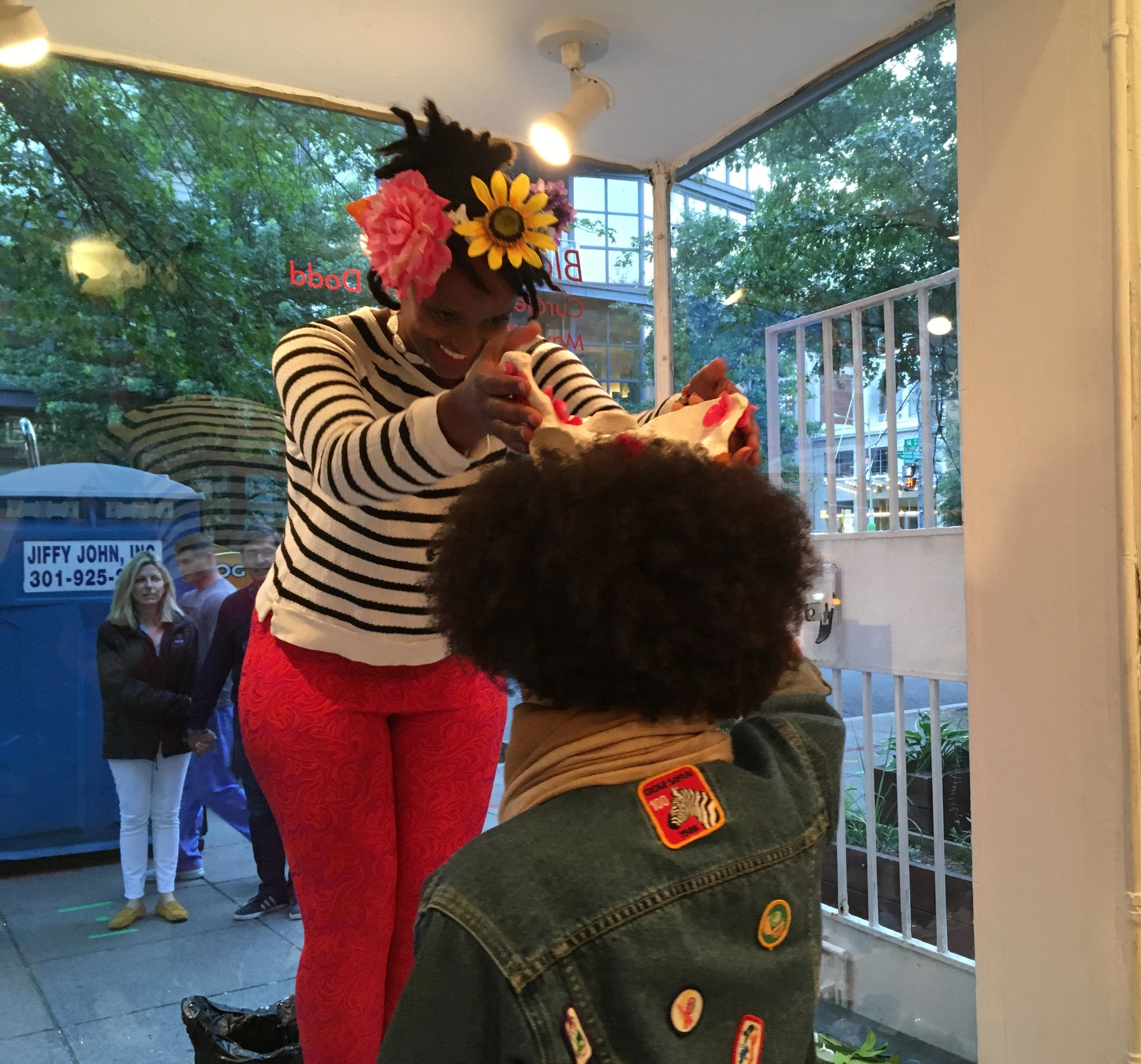 The Crowing, A Performance by  Tseday Makonnen(Image c/o Transformer)