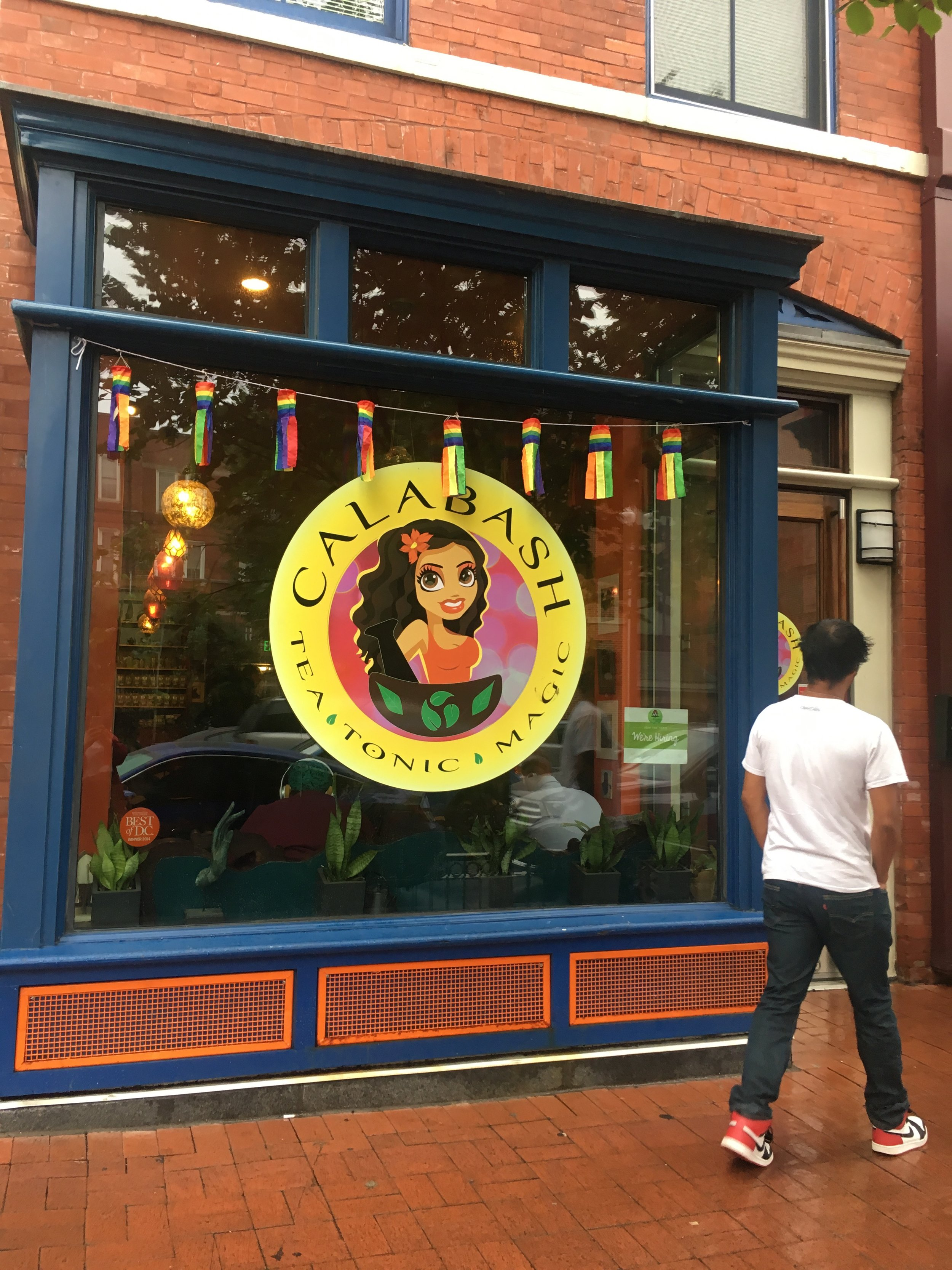 Calabash Tea House, 1847 7th St NW, Washington, DC 20001