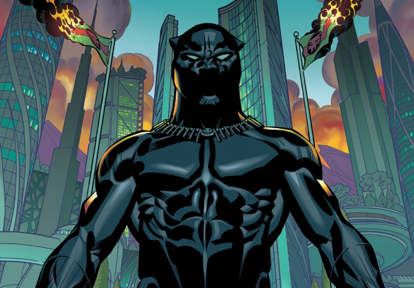 Black Panther,  written by Ta-Nehisi Coates, illustrated by Brian Stelfreeze, originally published in 2016
