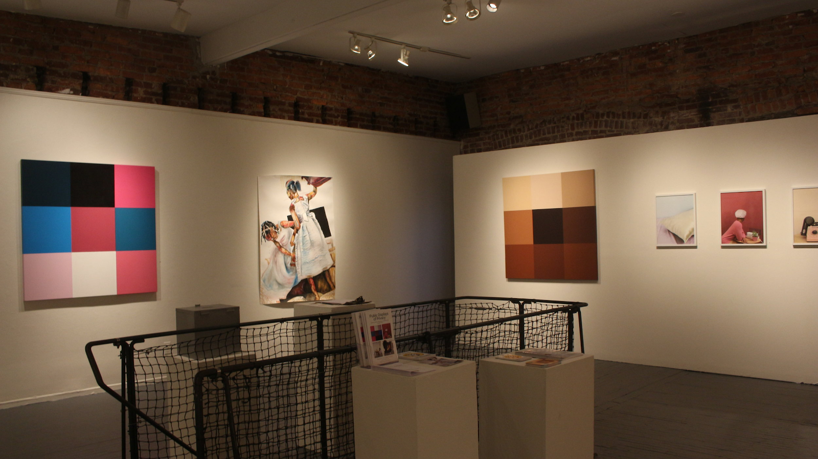 Installation shot of Public Displays of Privacy at The District of Columbia Arts Center (DCAC)