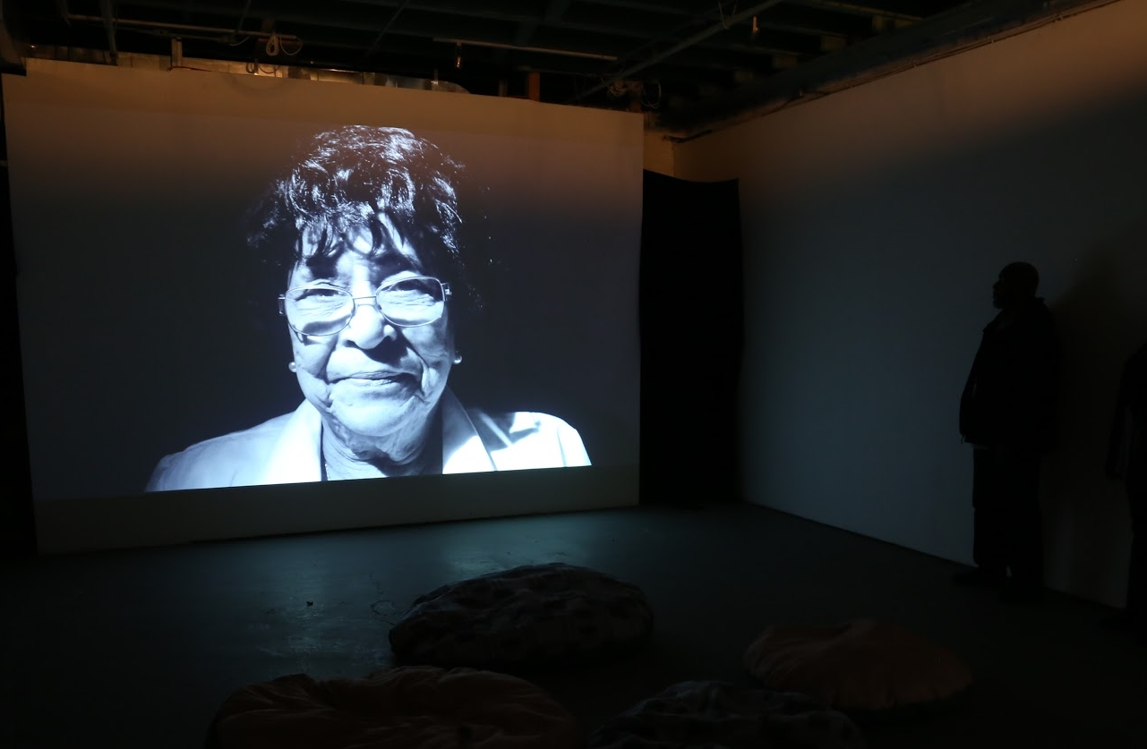 Installation shot of (Re)mnants at Flux Factory
