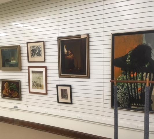 Photograph of Clark Atlanta University Art Museum's object study room