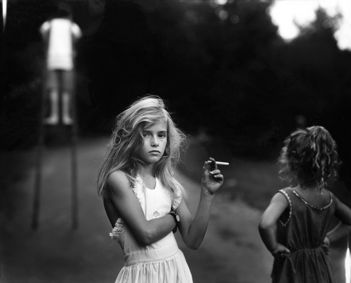 Image: Sally Mann,  Candy Cigarette, 1989,  gelatin silver print