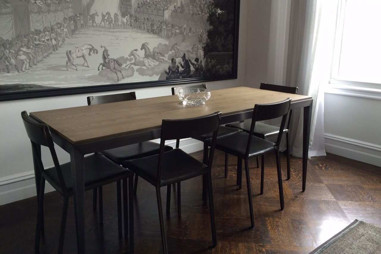 Axilrod  Shown: Wooster Dining Table