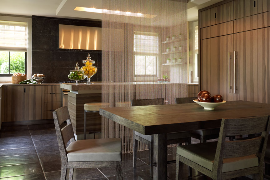 Calder Design Group   Shown: Nolita Chairs, Bedford Dining Table