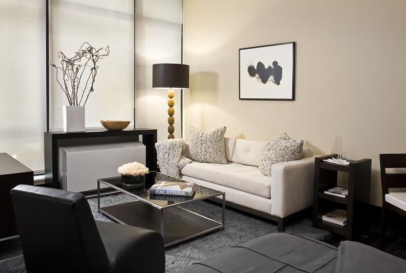 Hudson Sofa ,  Nolita Chair ,  Wooster Cocktail Table