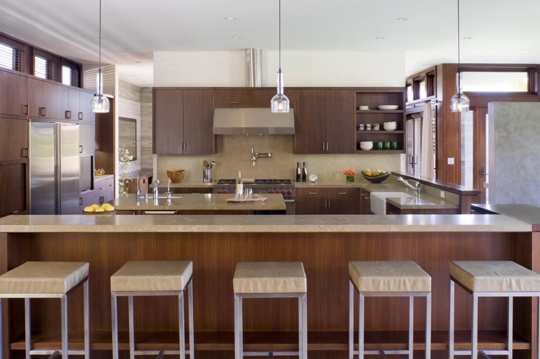 Alana Homesley Interior Design  Shown: Bowery Counterstools