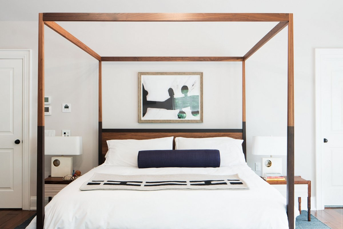 Dosk Interiors  Shown: Cooper Canopy Bed