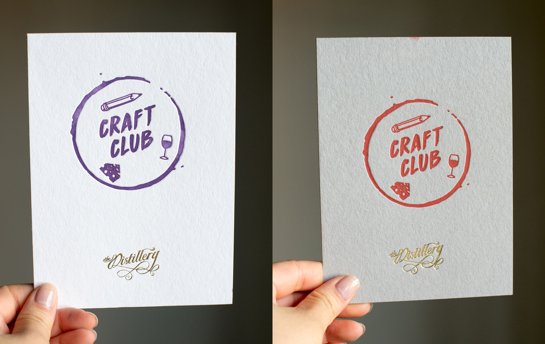 Craft Club cards!