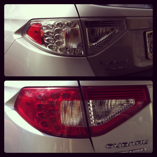 Lens and Tail Light Tinting — Vinyl Styles