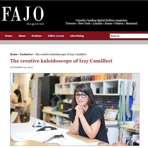The creative kaleidoscope of Izzy Camilleri -