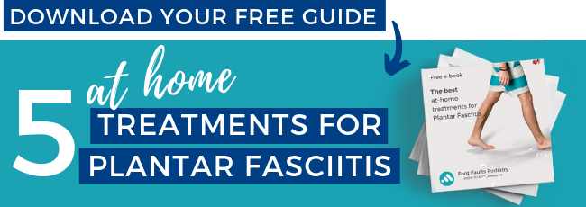 Free Guide - 5 at home treatments for Plantar Fasciitis.png