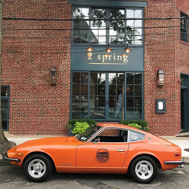 It may be a Tuesday evening, but we are driving! Stop by #oysterbaycruisenight and say hello! Drive #sexylittlecars @sundaydriversnygt . . . #datsun #240z #incentive #concierge #corporateevents #bachelorparty #bacheloretteparty #moviecars #tvcars #nycdaytrip #northforkliving #montauk #hamptons #hamptonsstyle #boutique #boutiquecars #customtrips