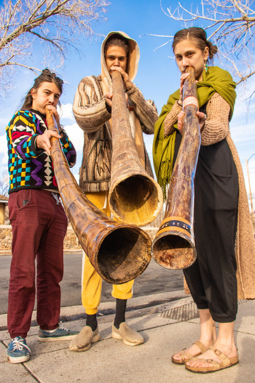 Psilosapiens (Stefan Dragic, Cooper Montgomery, and Summer Barbone) - Photo by  KBR