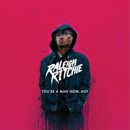 "Raleigh Richie - ""You're a Man Now, Boy"" - Album Cover Art"