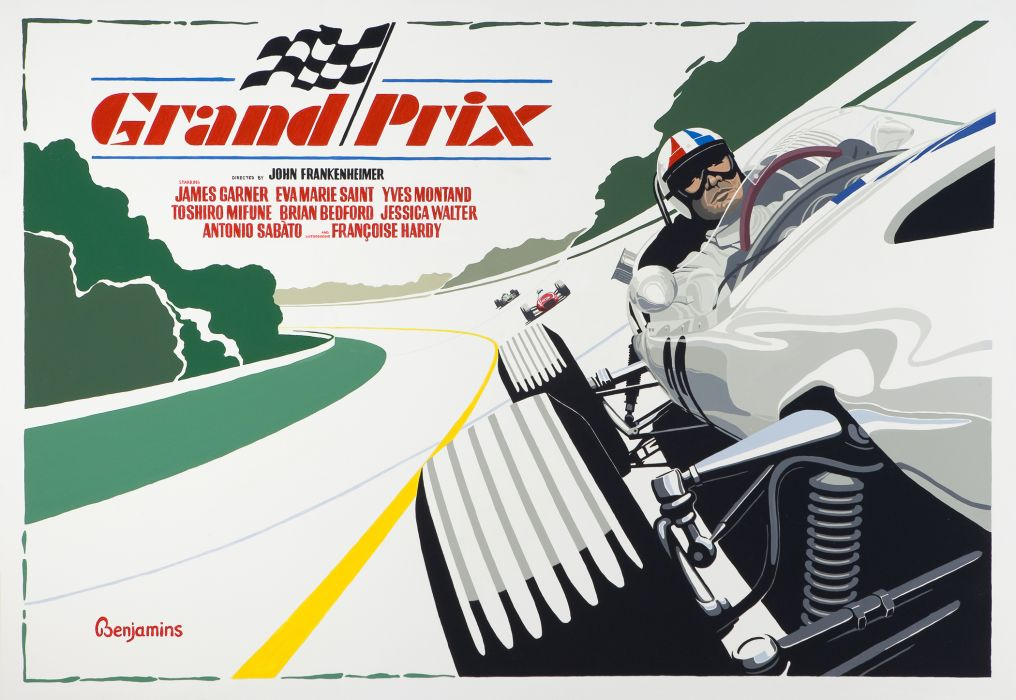 """Grand Prix Homage"" by Arthur Benjamins"