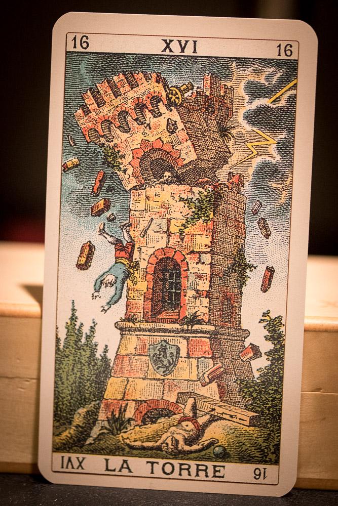 Trump Tower, Ancient Italian Tarot.