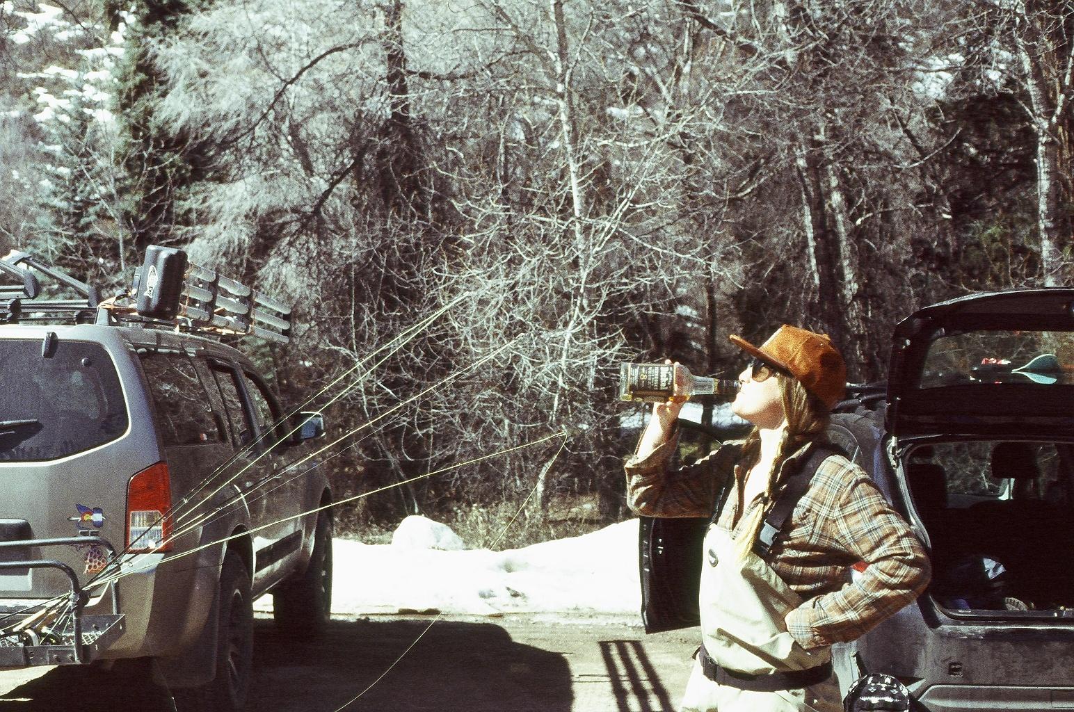 10 AM on the Roaring Fork, Aspen, Colorado