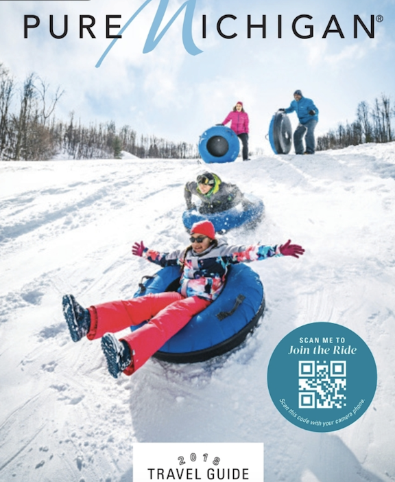 Chasing Pow  Pure Michigan Winter Travel Guide, 2018-19