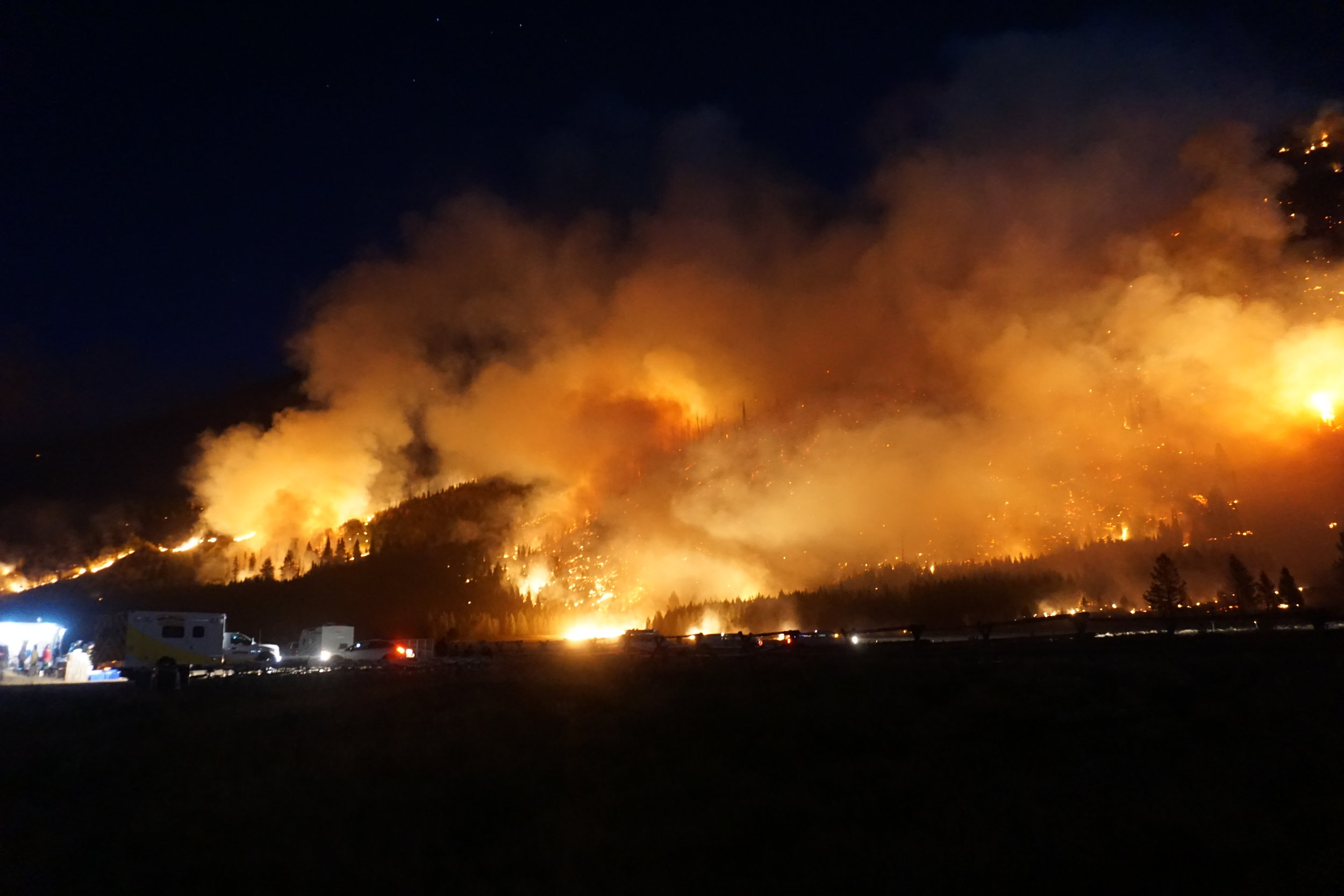 Wildfire Suppression 101  Explore Big Sky Magazine  August 2017
